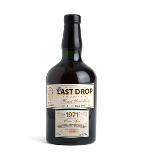 Bottle of Last Drop