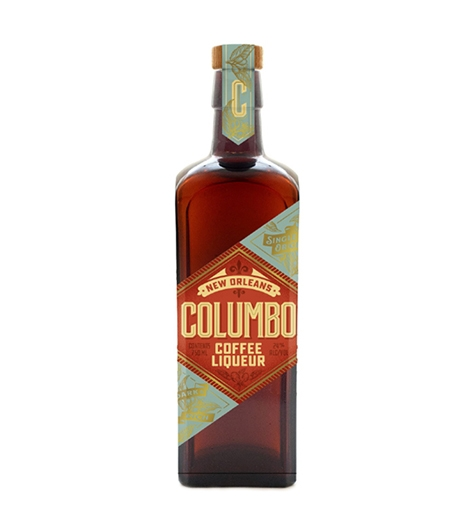 Bottle of Columbo Coffee Liqueur
