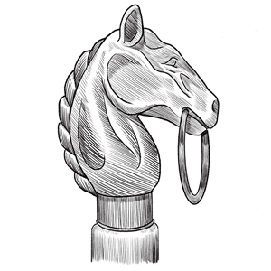 Hitching Post illustration
