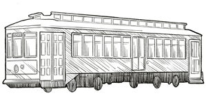 Streetcar Illustration