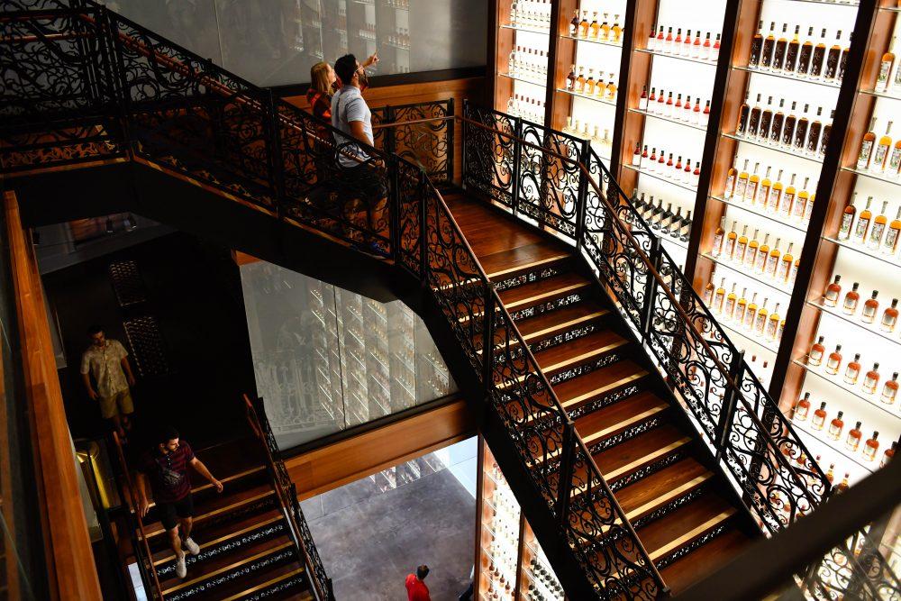 Sazerac House staircase