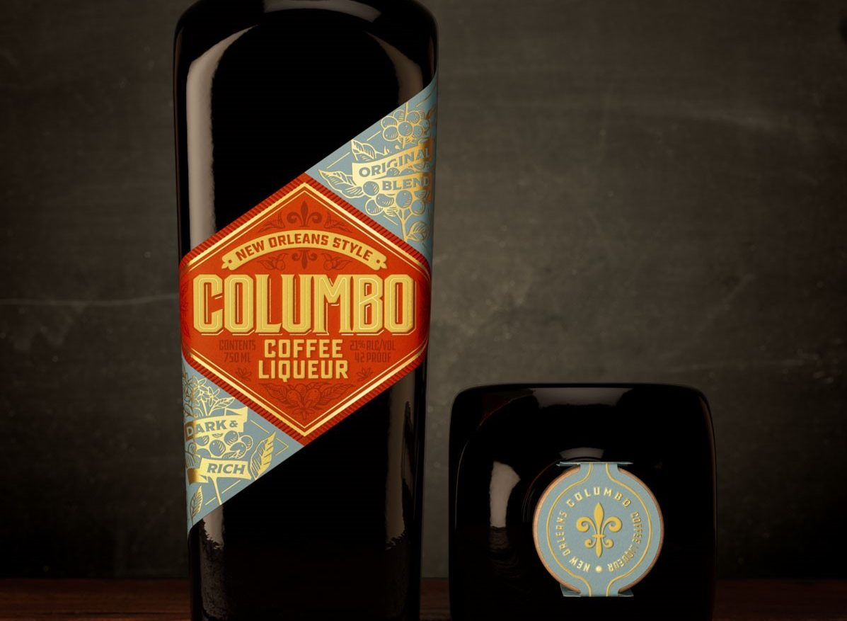 Columbo Coffee Liqueur Bottle Photo