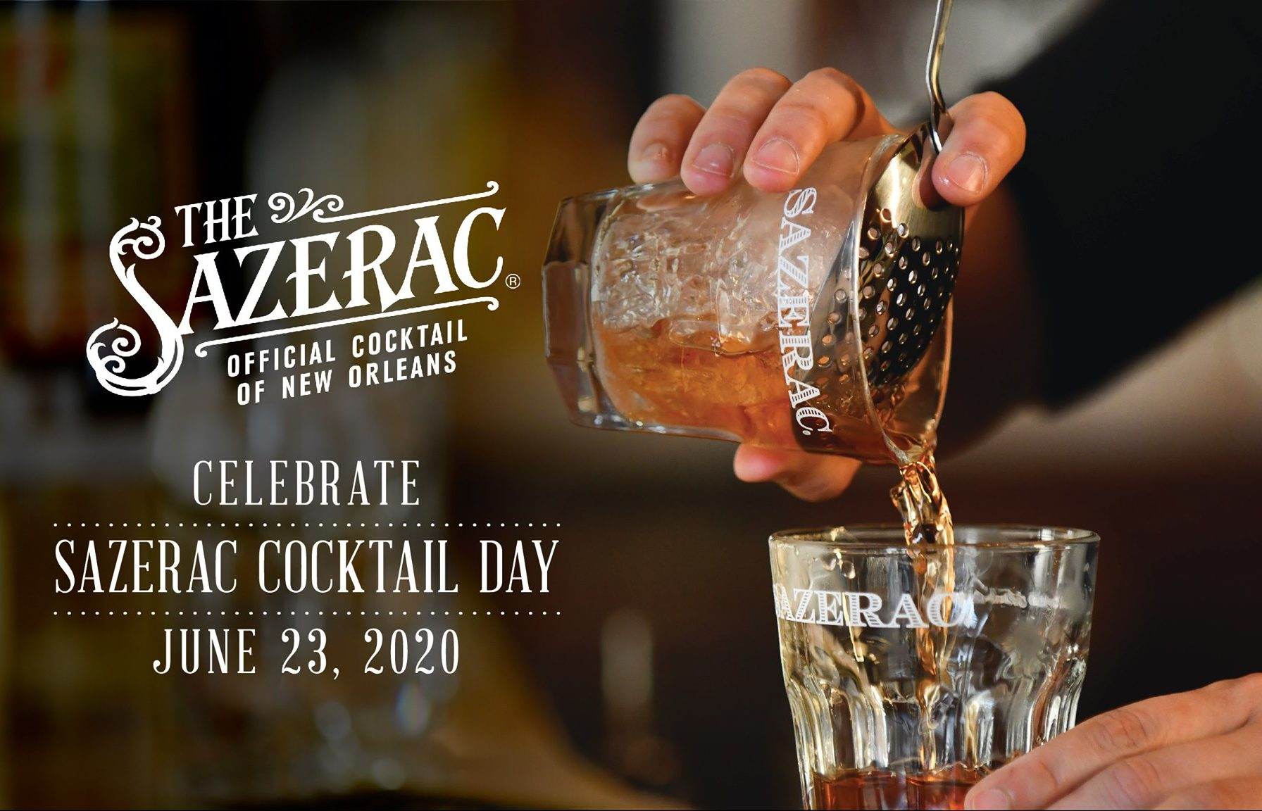 Sazerac Cocktail Day