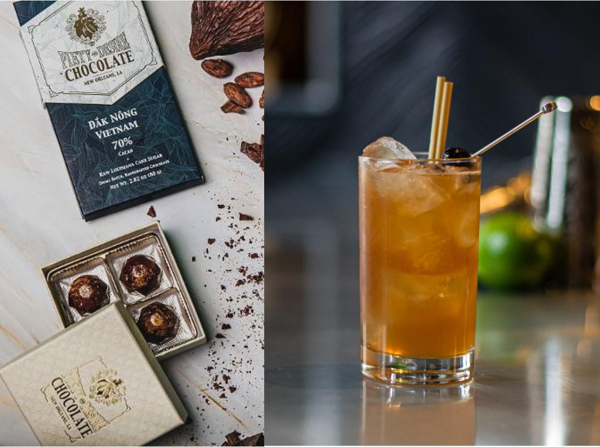 Cocoa Cocktails Rum Nov