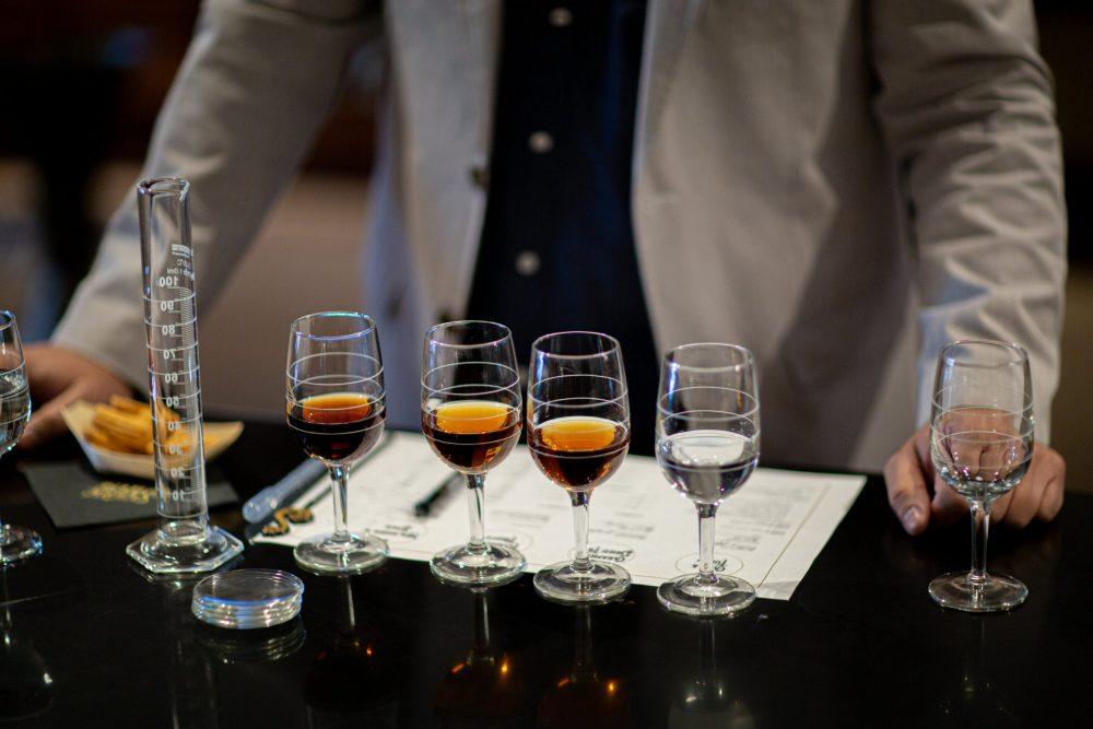 Rum blending