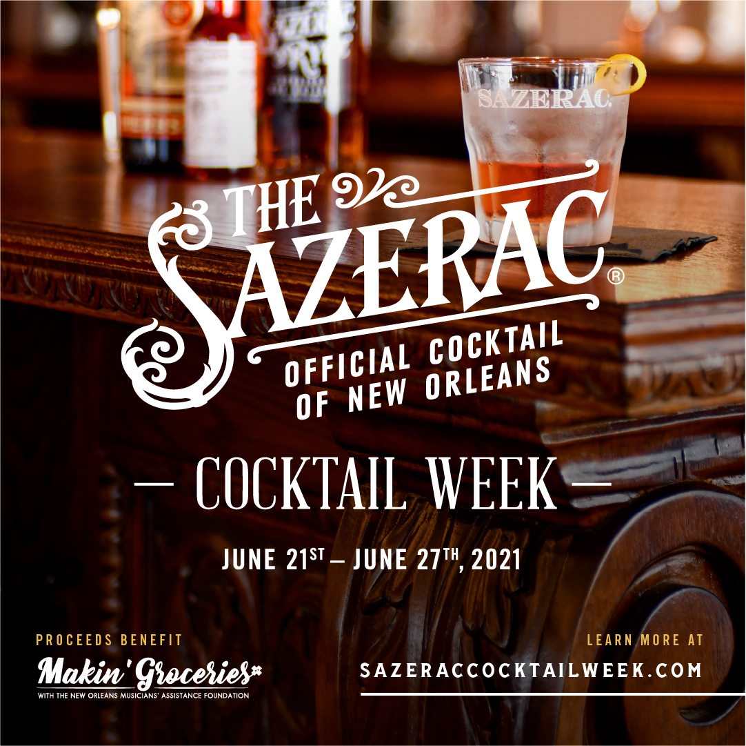 Sazerac Cocktail Week - Virtual Sazerac Cocktail Class