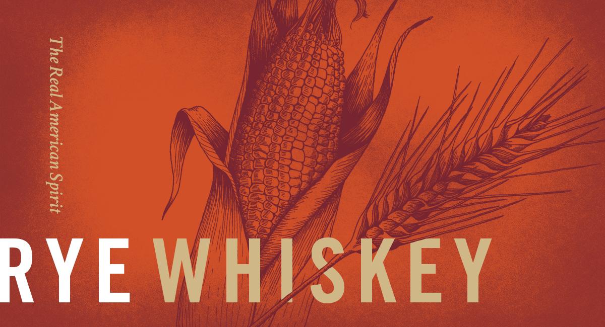 Rye Whiskey Illustration