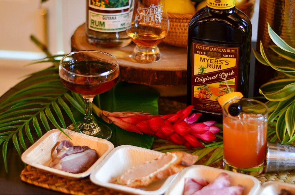 cured and aged rum event